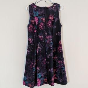 Cynthia Rowley floral fit & flare dress sz 8